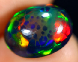3.38cts Natural Ethiopian Smoked Welo Opal / BF8022