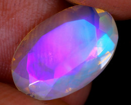 2.25cts Natural Ethiopian Faceted Welo Opal / NY3038
