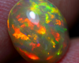1.60cts Tip Top Brush Stroke Pattern Natural Ethiopian Welo Opal