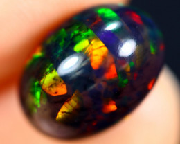 3.69cts Natural Ethiopian Smoked Welo Opal / BF7927