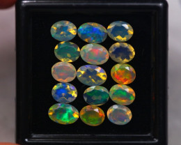 3.28Ct Natural Ethiopian Welo Faceted Opal Lot W309