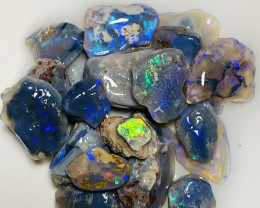 65 CTs Nobby Rough Opals With Lovely Cutters #017