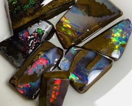 Gems of Winton** Colourful Rough Boulder Opals #019
