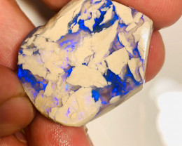 Nobby Formation - Beautiful Blue Colour Bar on A Big Nobby for Opal Collect
