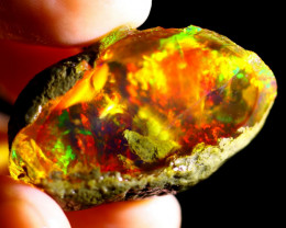 76cts Ethiopian Crystal Rough Specimen Rough / CR4761