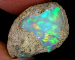 10cts Natural Ethiopian Welo Rough Opal / WR8245