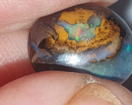 Yowah nut opal with blues and pinks