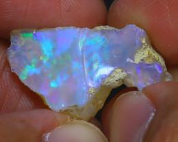 11.70Ct Multi Color Play Ethiopian Welo Opal Rough H1816/R2