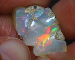 9.36Ct Multi Color Play Ethiopian Welo Opal Rough H1819/R2