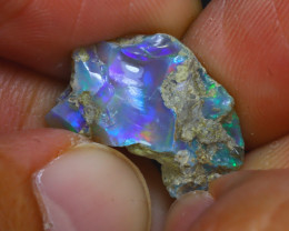 6.60Ct Multi Color Play Ethiopian Welo Opal Rough H1820/R2