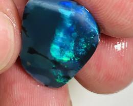 Oh Woww..! Simply Beautiful Bright Black Opal Rub#041