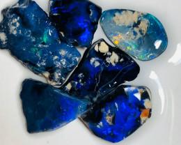 N1 Black Opals - Rough & Rub Super Bright Seam Material