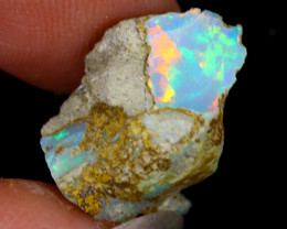 6cts Natural Ethiopian Welo Rough Opal / WR8295