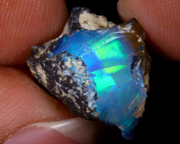 5cts Natural Ethiopian Welo Rough Opal / WR8299