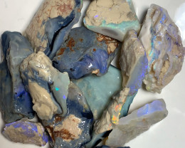250 Cts of Big Size Rough Seam Opals with Great Potential to Cut & Carve