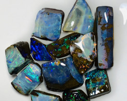 Select Winton Colourful Rough Boulder Opals- See Video #078