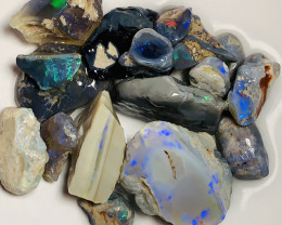 Floor Sweep* Mix of nice opals put together from miner's workshop#083