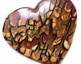 23.55 CTS LOVERS HEART KORIOT POLISHED FROM ELUSIVE MINE  [FJP4539]