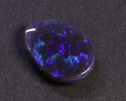 5.72 CT Lightning Ridge  Solid  Black Opal