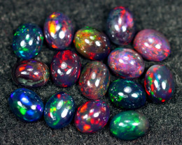 17.80cts Natural Ethiopian Welo Smoked Opal Lots / HM2837