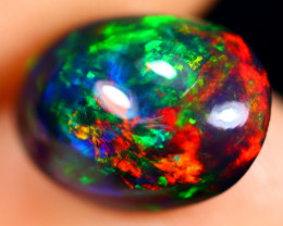 2.65cts Natural Ethiopian Welo Smoked Opal / HM2839