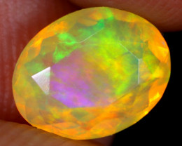 1.40cts Natural Ethiopian Faceted Welo Opal / UX878