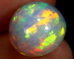 8.21cts Natural Ethiopian Welo Opal / HBF8103