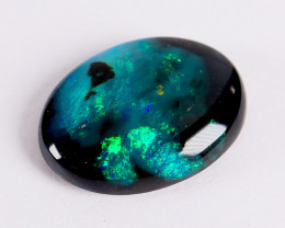 Lightning Ridge Australia - Solid Black Opal - 1.9 cts