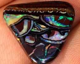 12.4ct 18x17mm Yowah Boulder Opal [LOB-3972]