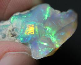 Natural 17.9ct Ethiopian Welo Rough Opal #REO714