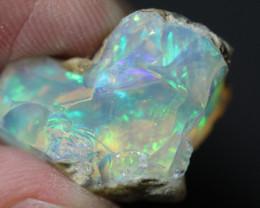 Natural 14.6ct Ethiopian Welo Rough Opal #REO894