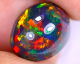 3.31cts Natural Ethiopian Welo Smoked Opal / UX962