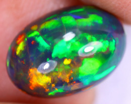3.68cts Natural Ethiopian Welo Smoked Opal / UX964