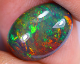 2.93cts Natural Ethiopian Welo Smoked Opal / UX1004