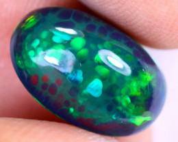 3.44cts Natural Ethiopian Welo Smoked Opal / UX1021