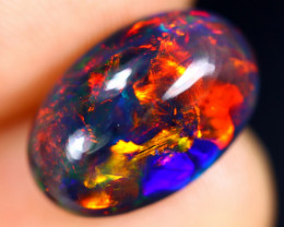 3.25cts Natural Ethiopian Smoked Welo Opal /BF8210