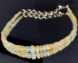 13.70 Crts Natural Ethiopian Welo Opal Bracelet 130