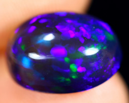 3.30cts Natural Ethiopian Welo Smoked Opal / HM2977