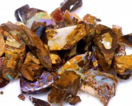 100 cts Yowah Opal Offcut Chip Rough Parcel ADO-9520      adopals