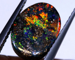 2.60 CTS QUALITY  BOULDER OPAL POLISHED STONE  INV-2264    INVESTMENTOPALS