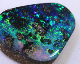 17.65 CTS QUALITY  BOULDER OPAL POLISHED STONE  INV-2269    INVESTMENTOPALS