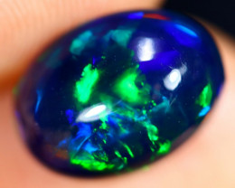 2.54cts Natural Ethiopian Welo Smoked Opal / HM3009