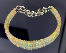16.65 Crts Natural Ethiopian Welo Opal Bracelet 91