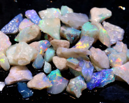 20cts Coober Pedy White Opal Rough Parcel  ADO-9554  adopals