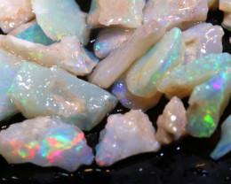 20cts Coober Pedy White Opal Rough Parcel  ADO-9557  adopals