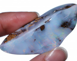 65.68 CTS BOULDER OPAL STONE FROM WINTON -TOP POLISHED-[FJP4576]