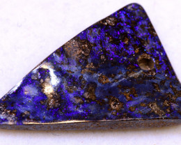 15.50 cts   Drilled Boulder Opal cut stone TBO-A3596