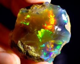 126cts Ethiopian Crystal Rough Specimen Rough / CR4881