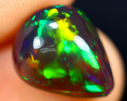 3.21cts Natural Ethiopian Welo Smoked Opal / HM3015