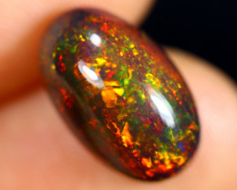3.19cts Natural Ethiopian Welo Smoked Opal / HM3016